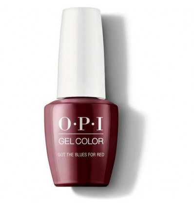 Got The Blues For Red - OPI GelColor